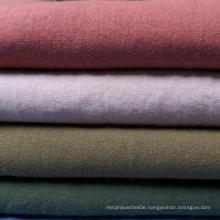55% Ramie 45% Cotton Blended Fabric 21s Plain Cotton Ramie Fabric