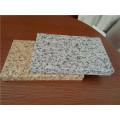 Paneles de panal de aluminio de color de piedra para revestimiento de pared