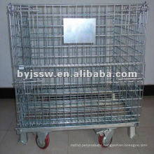 Wire netting warehouse storage trunk