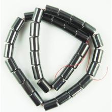 Hematite Tube Beads 8X12MM