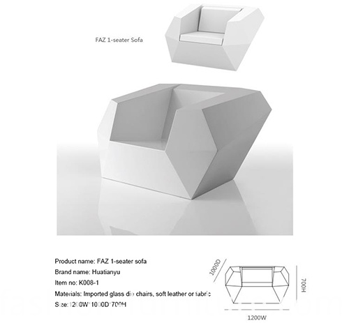 Faz Lounge Single Sofa