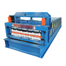 Double layer steel sheet rolling machine