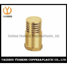 Fußventil mit Sieb / hochwertigem Messing Sieb Fuß Ventil (YS7007)
