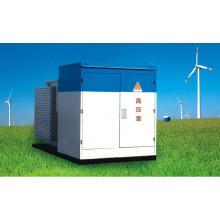 Трехфазный трансформатор с комбинированным трансформатором 36 кВ