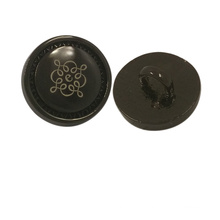 Garment Accessory Custom Logo Metal Shirt Button