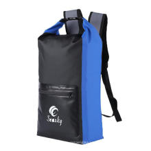 Fishonable Black 25L Large Camping Duffle Water Proof Dry Bag for Hiking