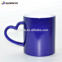 Taza cambiante del color de la calefacción de 11oz taza del cambio de temperatura de yiwu sunmeta