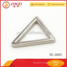 Fabriqué en Chine, en gros, en alliage de zinc, sacs à main, boucles de ceinture G603