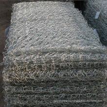 нержавеющая сталь/оцинкованная/galfan Покрынные PVC Коробка gabion/Корзина, каменная клетка