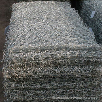 stainless steel/Galvanized/Galfan PVC Coated Gabion Box/Basket, stone cage