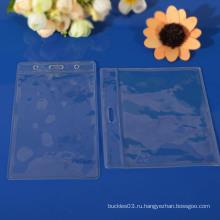 Прозрачный пластиковый держатель для идентификационных карт