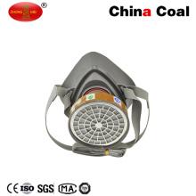 Masque à gaz demi-masque En140 avec un seul filtre