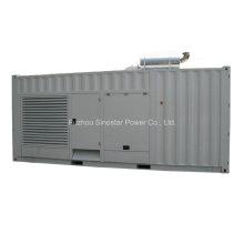 Generador diesel insonoro 550kw 688kVA con el motor de Doosan