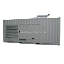 550kw 688kVA Soundproof Diesel Generator with Doosan Engine