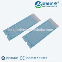 Pochettes de stérilisation à vapeur haute température