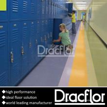 Langlebige Schulnutzung PVC-Bodenbelag