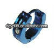 (WS812) Pendientes de canal de acero inoxidable de moda