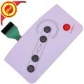 2020 poliéster feito sob encomenda um botão interruptor de membrana