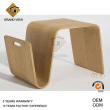 Diseñó mobiliario Scando final mesa madera (GV-SET16)