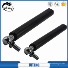 Stainless steel gas strut for noticeboard