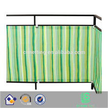 Privacy screen fence mesh windshield