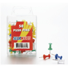 Plastic push pin