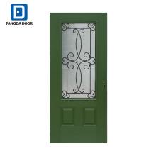 Фанда 2018 новый дизайн окрашенные дуба стеклопластик композитные двери