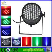 Professional dj lighting 54pcs 1W RGB led slim par can effect light