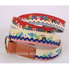 Handmade embroidery design belt