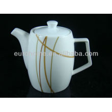 Hotel liefert chinaware bone china teekanne