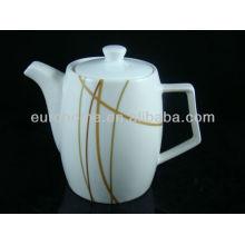 Hotel liefert chinaware bone china teekanne