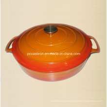 Enamel Cast Iron Dutch Oven Supplier China Size 29X7cm