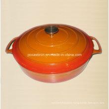 Enamel Cast Iron Dutch Oven Supplier China Size 29X7cm
