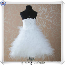 FG3 Strapless Tulle Skirt kids Dresses For Weddings
