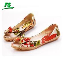 new design popular womens flat shoes