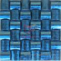 Blue Oracle Pattern Stainless Steel Metal Mosaic (CFM898)