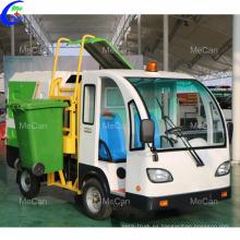 Camión de basura eléctrico con rueda motriz 4x2 automática