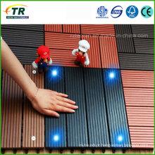 Fornecimento de madeira de plástico composto Decking DIY Tiles