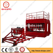 Hydraulic Dished End Configuring Machine /No Template Irregular Dished Head Folding Machine/Dishes Ends Machine