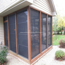Porta de fibra de vidro e tela de substituição de janela