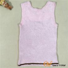 शिशु लड़की के लिए अंगिया गहरी गर्दन स्वेटर