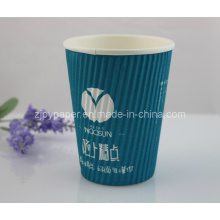 Ripple Wrap Wall Paper Cup for Hot Beverage