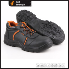Low Cut Genuine Leather Safety Shoe with Steel Toe (SN5258)