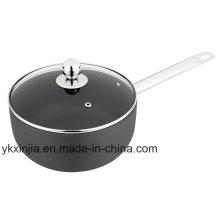 Aluminum Carbon Steel Non-Stick Hard Anodize Milk Pot, Cookware