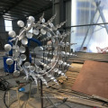 Hot sale garden decoration stainless steel kinetic sculpture