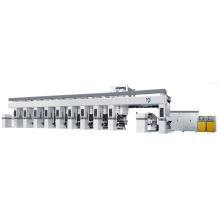 Shaftless Printing Cylinder Rotogravure Printing Press Machine