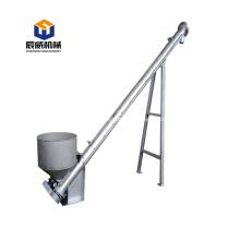 304 stainless steel powder ash screw conveyor machine