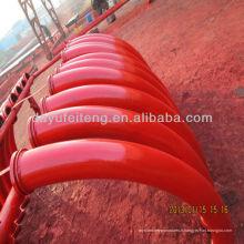 PM / CIFA / SANY / Schwing DN125 x R275 x 90 'Coude de pompe à béton / Coude