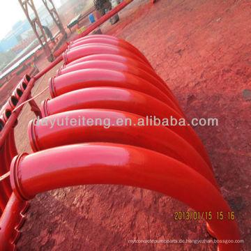 PM / CIFA / SANY / Schwing DN125 x R275 x 90 'Betonpumpe Biegung / Elbow