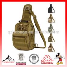 Sac de poitrine de sac à bandoulière extérieur de sac de poitrine d'hommes multi-usages attaquent les corps croisés imperméables
